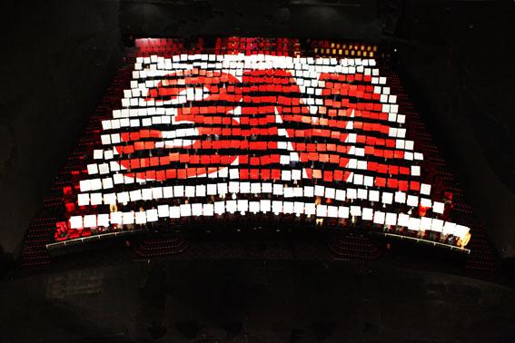 Tifo crée par L'Œil du Plafond