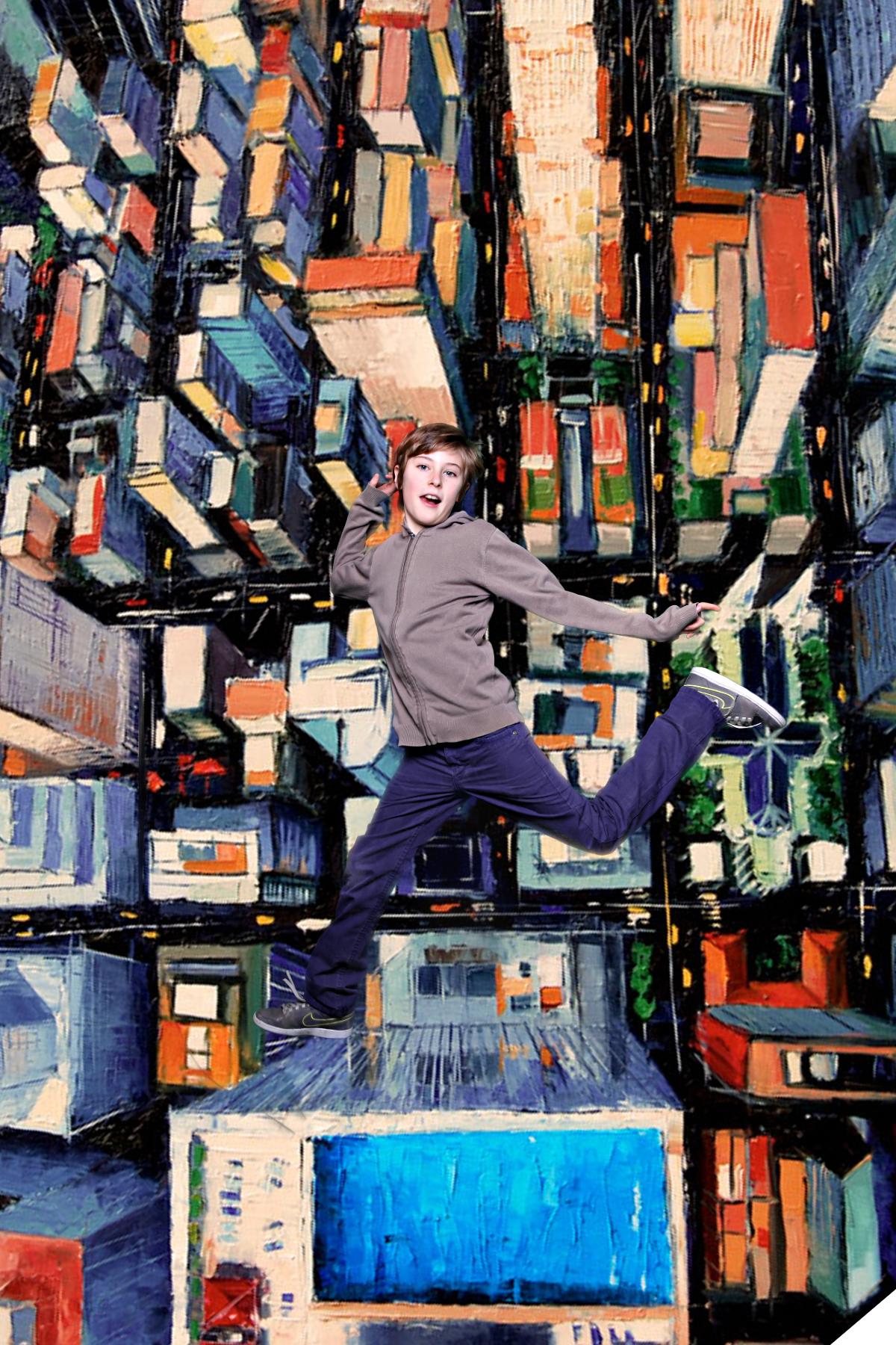 Jump ! animation photo
