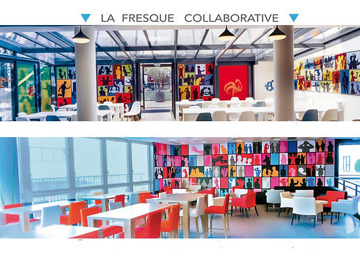 Fresque collaborative