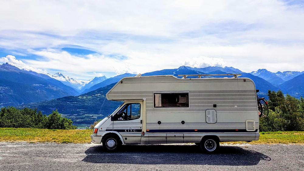 saviese free camping switzerland