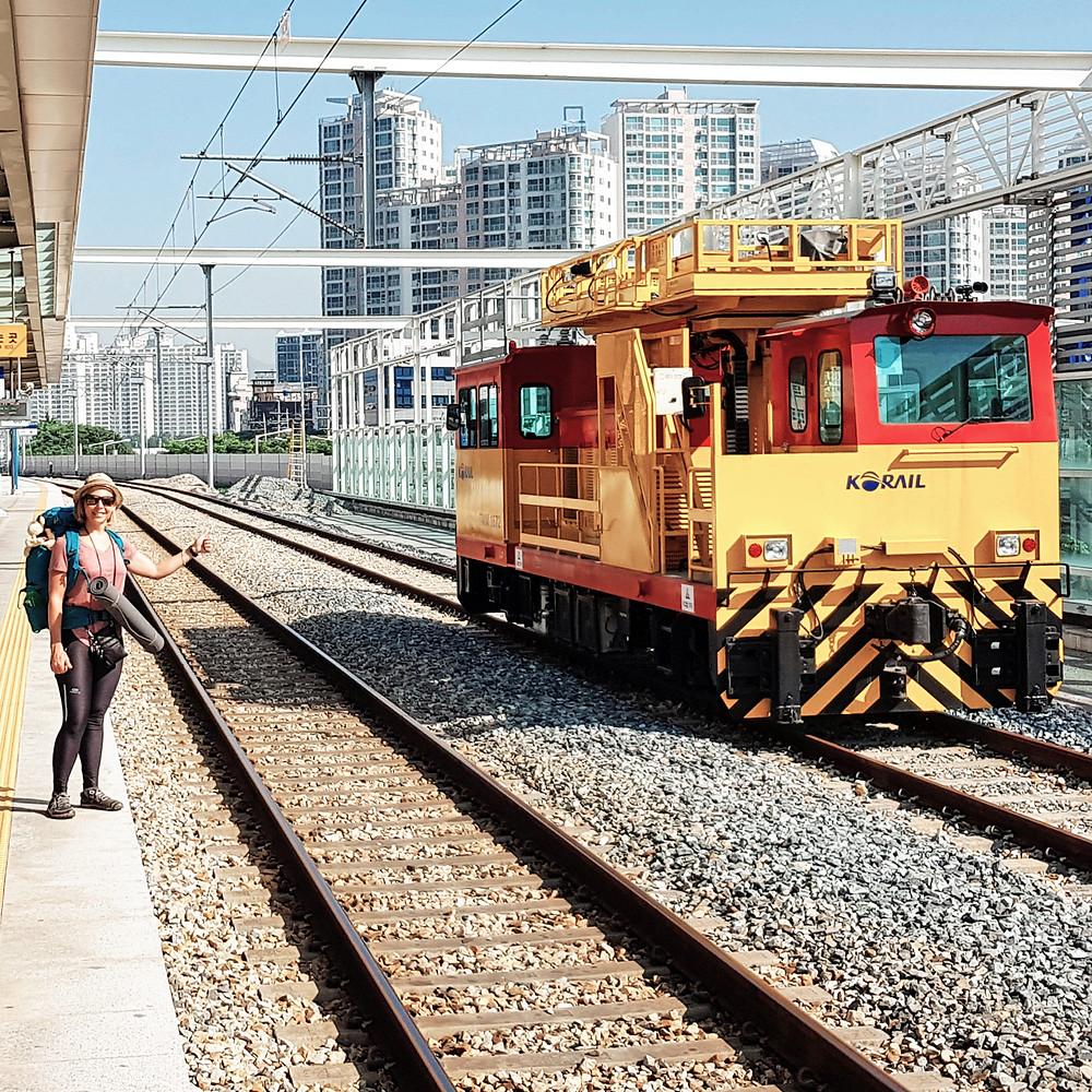 Korea Rail andong station