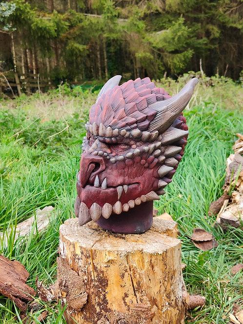 Dragonkin Latex Mask
