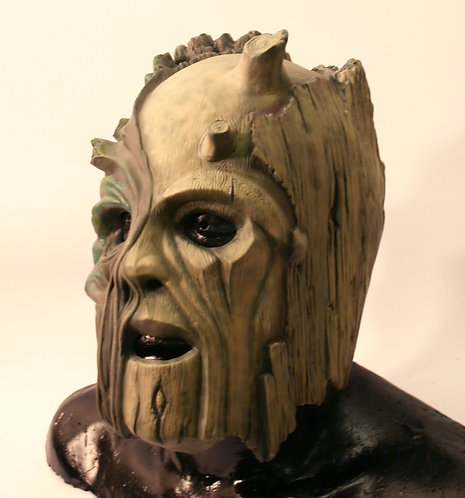 Wood Automaton Latex Mask
