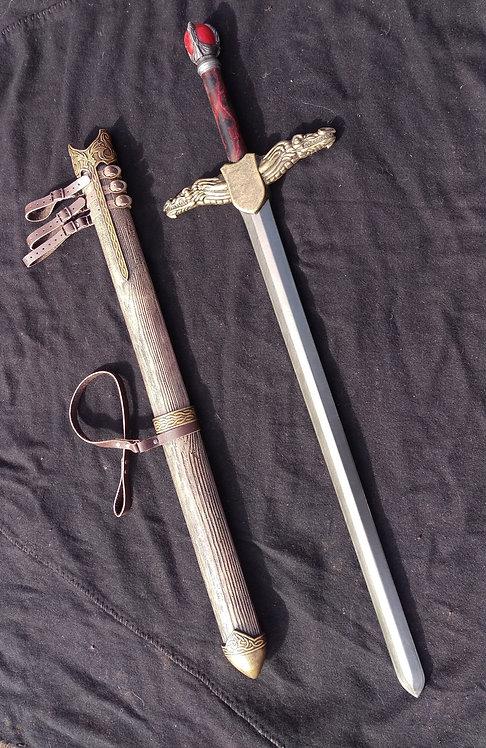 Dragon Longsword & Scabbard