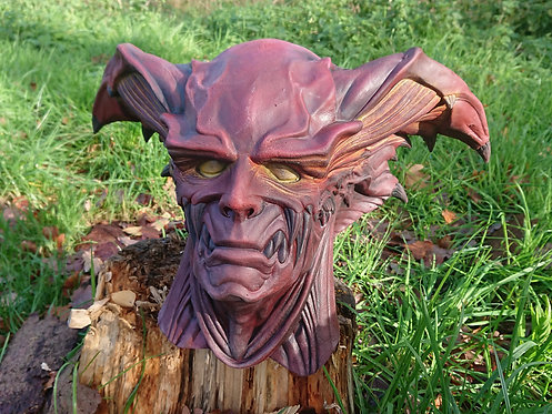Demon Lord Latex Mask