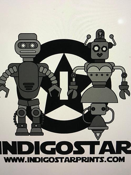 Indigo Star Robots