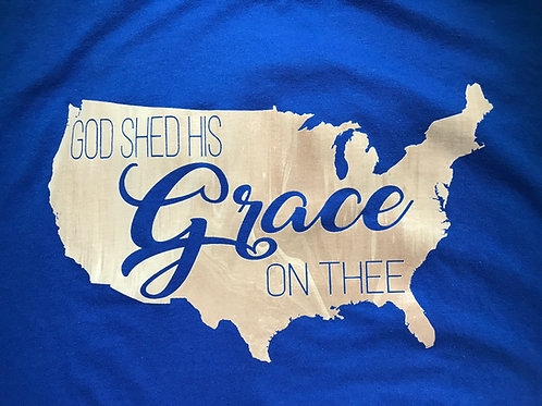 America - God Shed His Grace On Thee