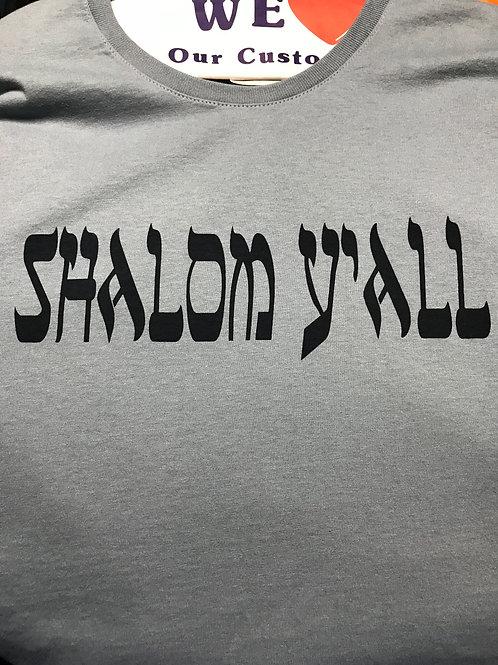 Shalom Ya'll