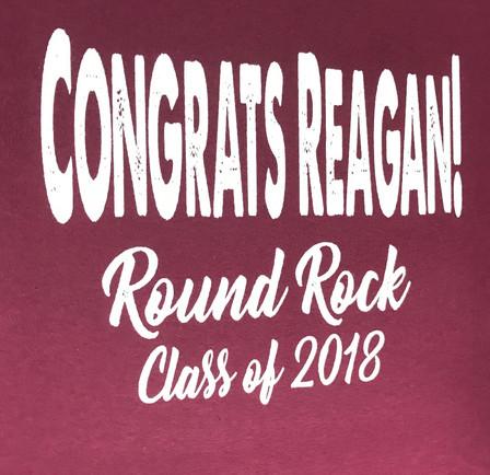 Reagan's Graduation!