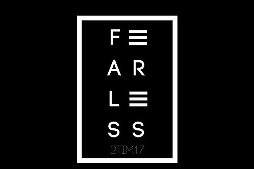 Fearless (Design by Reggie Searles)