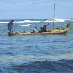 Canoe Sailing in the Solomon Islands