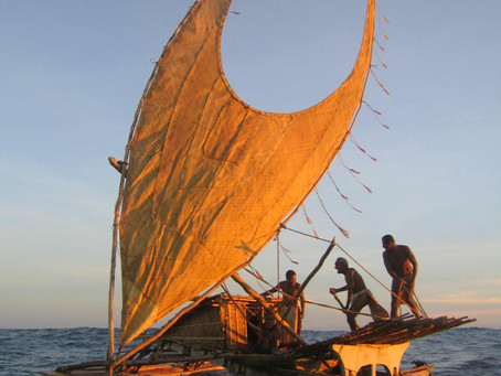 Come meet Taumako voyaging crew members from the Duff Islands.