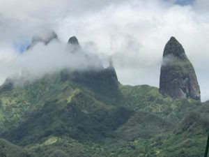 The rock spires of UaPou