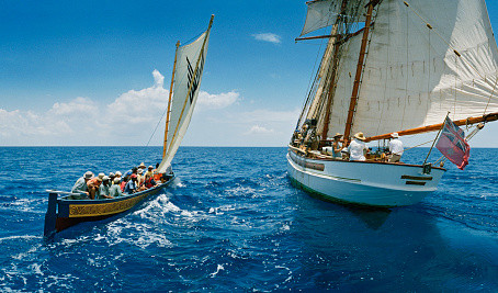 Gli Gli Voyage – Traditional Caribbean Canoes
