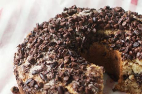 Coffee, Dates & Almond Cake