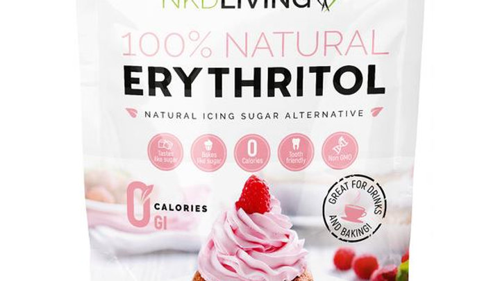 Erythritol Powdered 1kg - 100% Natural