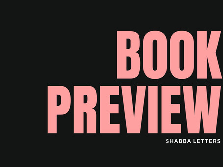 Shabba Letters : Preview