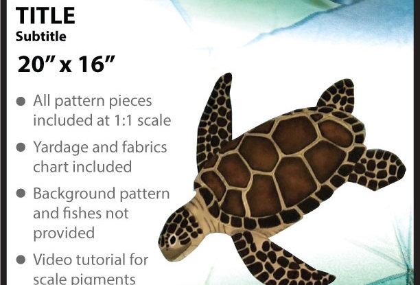 The Turtle appliqué (English)