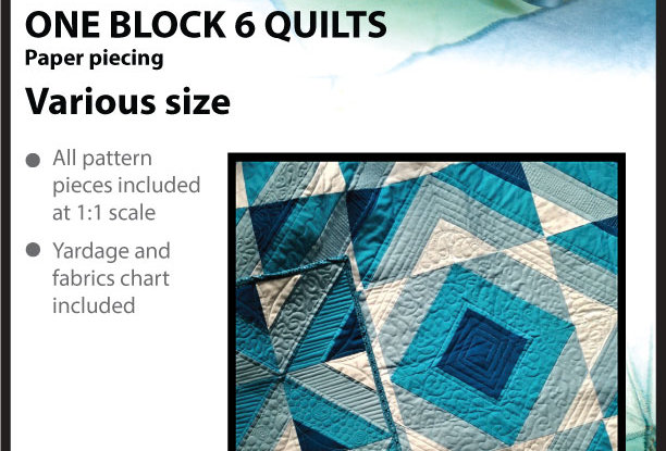 One block 6 Quilts (English)