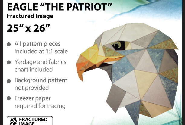 """The Patriot"" Eagle fractured image (English)"