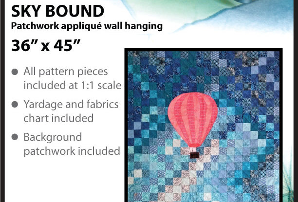 Sky bound wall hanging (English)