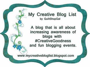 My creative blog list