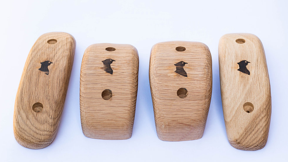 4 large oak pinches