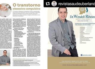 Dr. Wendell Ribeiro publica matéria sobre Transtorno Obsessivo Compulsivo (TOC) na revista Saúde Ube