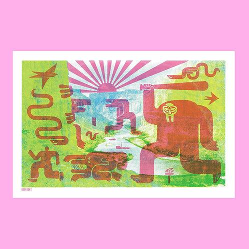 Doomsday Screen Print