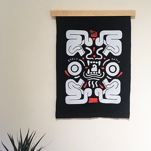 Screen Printed Wall Hanger