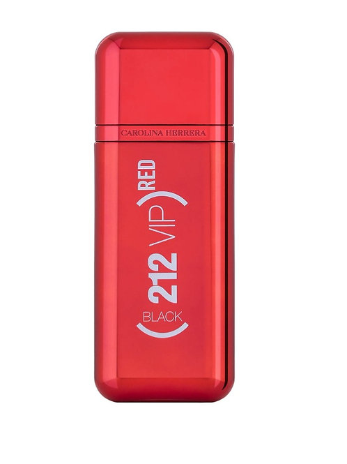 CAROLINA HERRERA 212 VIP BLACK RED MASCULINO EAU DE PARFUM 100ml