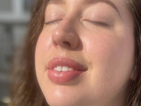 glow up: cbd facial oil