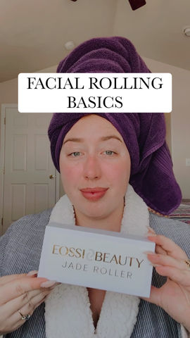 how to use a facial roller with eossi beauty