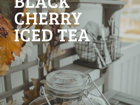 black cherry iced tea