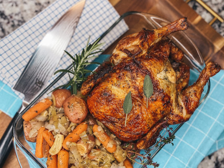 rotisserie chicken made easy with nuwave