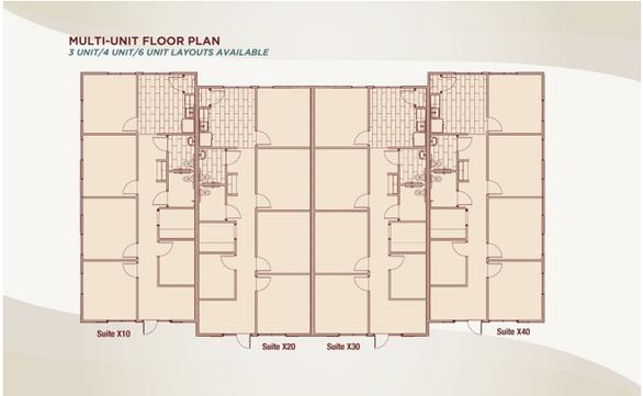 Multi- Unit Floor Plan