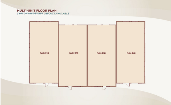 Multi-Unit Floor Plan