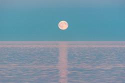 Moon Rise Over Bornholm