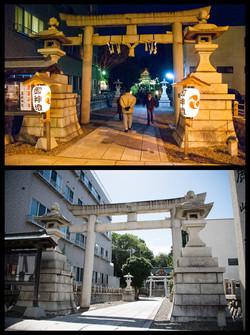 Kashima Shrine - Then & Now