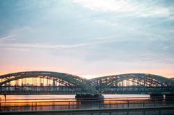 My Sunset in Hamburg