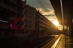 My Sunset in Tokyo