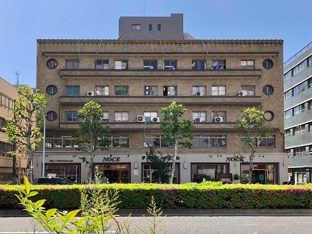 台東区で最古のビルであるタイガービルヂング