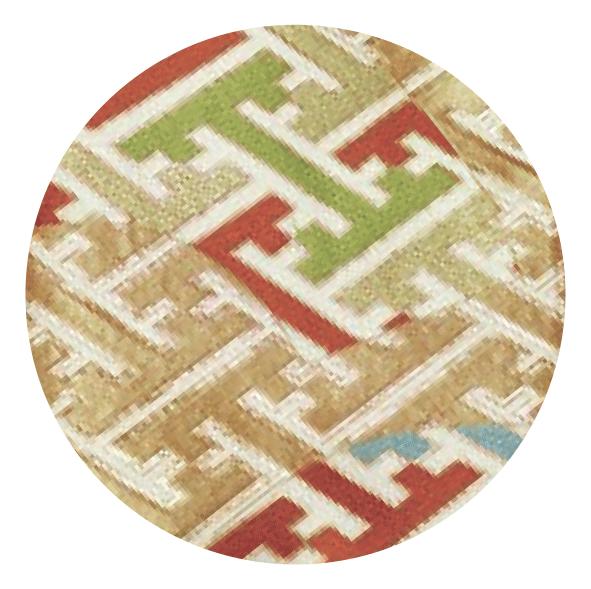 Japanese Kimono-Obi Pattern