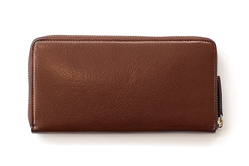 ROUND ZIP WALLET Buffalo