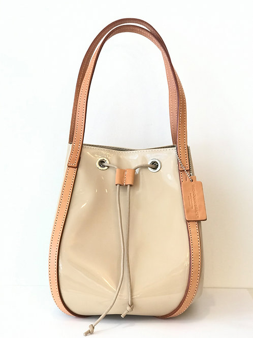 BUCKET (L) LOOP PATENT Beige