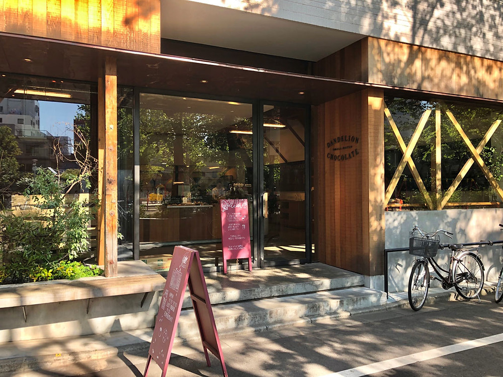 Dandelion Chocolate shop facade