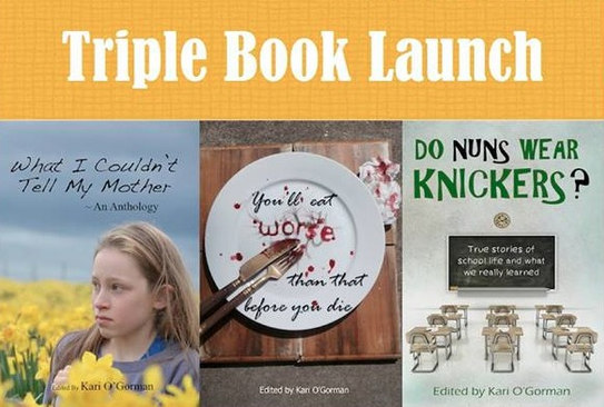 Melaleuca Blue: Triple Book Launch