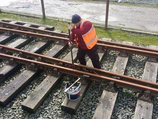 Track Maintenance at Dolgarrog