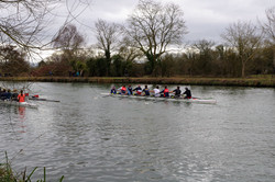 Rowers on the Isis (Thames)