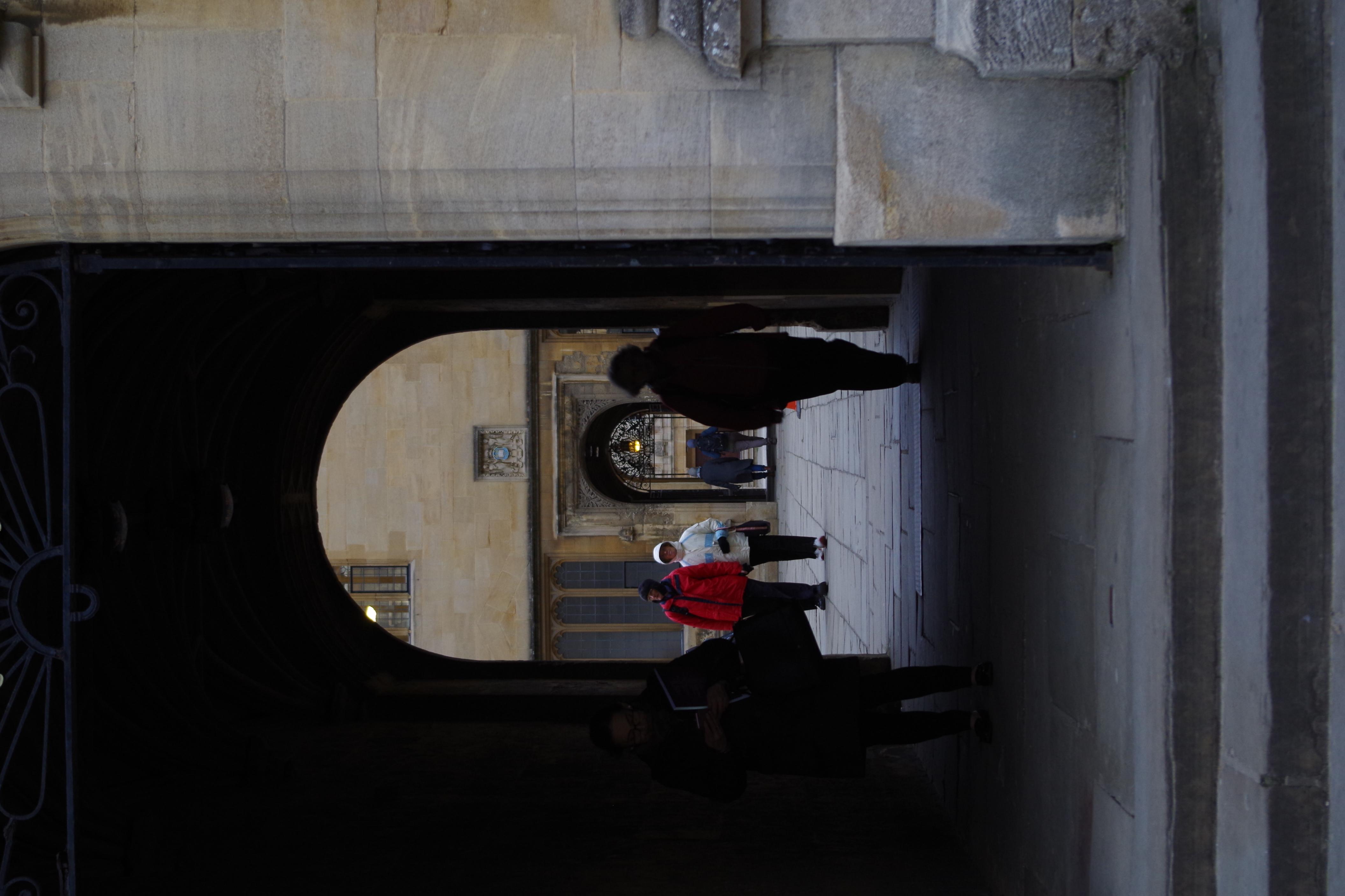 Bodleian archway